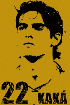 This is Ricardo Kaká, best player in the world in This is a little tribute work. Hope to read some comments Ricardo Kaka Soccer Art, Soccer Poster, Football Art, Football Icon, Minion Stencil, Ricardo Kaka, Funny Caricatures, How To Make Headbands, Football Pictures