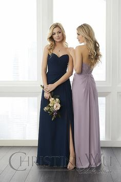 classic bridesmaid dresses available at Spotlight Formal Wear!