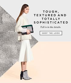 Shop Textured Fall Pieces at The Official Loeffler Randall Online Store… Newsletter Layout, Newsletter Design, E-mail Design, Layout Design, Grid Design, Mailer Design, Fashion Advertising, Advertising Ideas, Fashion Marketing