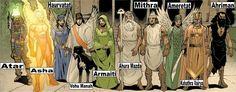 Yazatas (Persian/Zoroastrian gods)