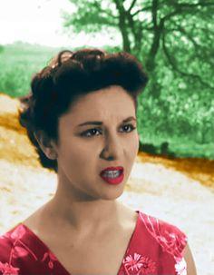 Faten Hamama , an egyptian celeb