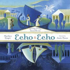 A new book of unique reversible poems based on Greek myths from the creator of Mirror Mirror <br> <br> What happens when you hold up a mirror to poems about Greek myths? You get a brand-new perspective on the classics! And that is just what happens in Echo Echo, the newest collection of reverso poems from Marilyn Singer. Read one way, each poem tells the story of a familiar myth; but when read in reverse, the poems reveal a new point of view!