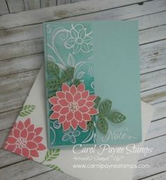 Stampin' Up! Flourishing Phrases are Irresistibly Floral!