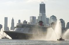 New Disney Ship The Fantasy to Be Christened Today in New York.