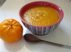 Le Chef Pierre D'Iberville: Soupe aux carottes, clémentines et gingembre