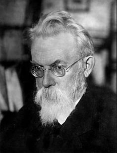 Vladimir Ivanovich Vernadsky-- (12 March [O.S. 28 February] 1863 – 6 January 1945) was a Russian, Ukrainian, and Soviet mineralogist and geochemist who is considered one of the founders of geochemistry, biogeochemistry, and of radiogeology, founder of the Ukrainian Academy of Sciences (now National Academy of Sciences of Ukraine). His ideas of noosphere were an important contribution to Russian
