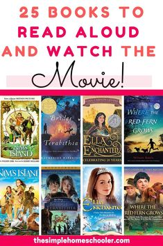 25 Books to Read Aloud to Your Kids Then Watch the Movie! - Do your kids need a little (maybe a lot of) encouragement to enjoy read aloud time? Everything chan - Books That Are Movies, Kid Movies, Family Movies, Movies For Kids, Read Aloud Books, Best Books To Read, Best Children Books, Childrens Books, Kids Reading