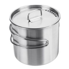 666b384ef5a 500ml Stainless Steel Cooking Pot Foldable Portable Camping Picnic BBQ  Cooking Tool