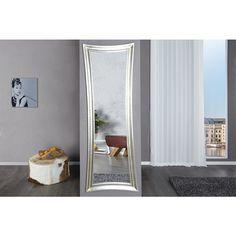 Wandspiegel Skinny 180cm zilver antiek - 10533