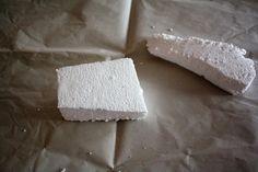 Comment faire des rochers en polystyrène pour la crèche - Tuto très simple et facile à réaliser
