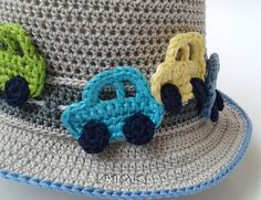 If you want to embellish any boy outfit this crochet car applique is perfect! They are so cute and easy to make you will love them! At the end of this post you can see the hat that I put those cars on! It is so popular and whenever I make that hat I receive …