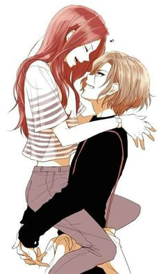 Manga Couple They are too cute, are they from an anime? Couple Anime Manga, Couple Amour Anime, Anime Sweet Couple, Anime Couples Drawings, Anime Couples Manga, Cute Anime Couples, Manga Anime, Anime Girls, Yandere Manga