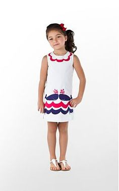 Little Lilly Applique Shift. Lilly Pulitzer...@Erin Lane Barton, if you have a girl, she will totally need this dress.