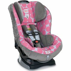Safety first! Buckle baby up in a convertible Britax car seat and ...