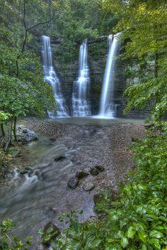 Triple Falls  Newton County, Arkansas