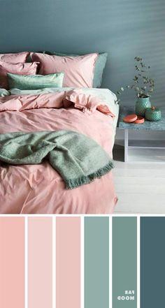 Bedroom Colour Palette, Bedroom Color Schemes, Bedroom Colors, Home Decor Bedroom, Sage Color Palette, Apartment Color Schemes, Ikea Bedroom, Bedroom Small, Mauve Color
