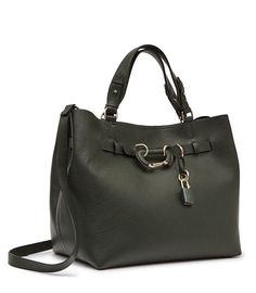 REISS - BLEECKER STRUCTURED LEATHER TOTE