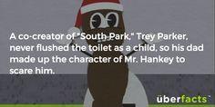 A backstory for you. South Park.