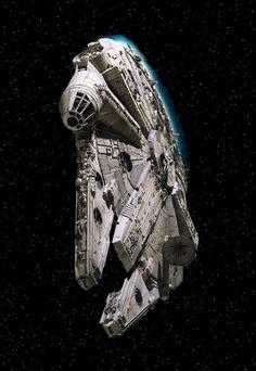 Millennium Falcon. Kessel Run record holder. Star Wars