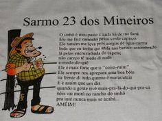 Piadassos: Os 23 salmos dos mineiro