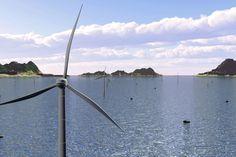 Future floating offshore wind concepts Offshore Wind Turbines, Future, Future Tense