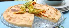 focaccia-allo-stracchino-con-fiori-di-zucca-e-acciughe ricetta