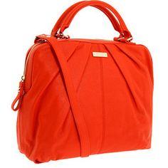 Love this tangerine Camille bag. Roomy  and fun!!
