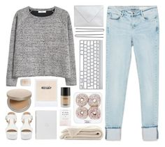 """""""#496"""" by lost-in-a-daydr3am ❤ liked on Polyvore featuring MANGO, Hershesons, Zara, Herbivore, Swarovski, Eve Lom and Forever New"""
