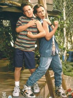 Cory and Shawn<3 (Ben Savage and Ryder Strong)