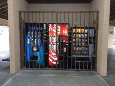 "kosmosxipo: "" When soda machines go bad, they go to soda jail. These are their stories. """