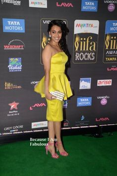 Fabulously Spotted: Swara Bhaskar Wearing Christian Siriano - IIFA Magic Of The Movies - http://www.becauseiamfabulous.com/2014/04/swara-bhaskar-wearing-christian-siriano-iifa-magic-of-the-movies/