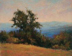 Amicalola View by Barbara Jaenicke Pastel ~ 11 x 14