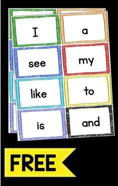 Sight Words — Keeping My Kiddo Busy Sight word flash cards FREEBIE – print these flash cards for free and use on your word wall or sight word unit – kindergarten or Pre-K words – Kindergarten Lesson Plans Pre K Sight Words, Preschool Sight Words, Teaching Sight Words, Sight Word Practice, Sight Word Activities, Kindergarten Sight Words Printable, Sight Word Wall, Dolch Sight Word List, Word Wall Letters