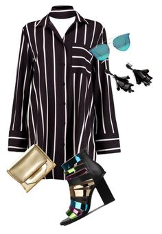 """""""Untitled #2762"""" by xtrak on Polyvore featuring Boohoo, Louise et Cie and Oscar de la Renta"""