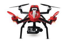 Traxxas Aton Plus RC Quadcopter • 2-Axis Gimbal, 3-Cell 5000mAh iD LiPo Battery & 3-amp AC LiPo Charger