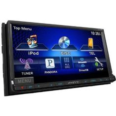 """Kenwood DDX770 6.96"""" Multimedia DVD Receiver with Bluetooth by Kenwood. Save 38 Off!. $369.99. 6.95"""" WVGA Screen Garmin Navigation Solution for iPhone 4/4S  Built-In Bluetooth With A2DP And Smart Phone Voice Control Voice Dialing / Siri Eyes Free  Rear USB Port Steering Remote-In Pandora App Ready For iPhone And Android  SiriusXM Ready  Garmin iPhone App Ready  3 RCA Pre-Outs 4 Volt"""