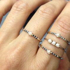 Jennie Kwon Designs / Pearls Birth rings
