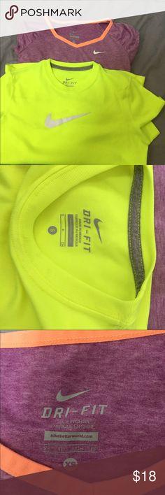 Two Nike shirt Dry fit Nike shirt Nike Shirts & Tops Tees - Short Sleeve