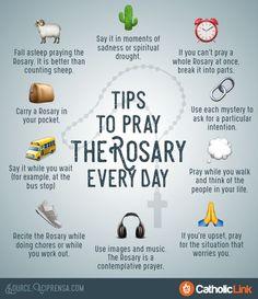 10 Simple Tips to Help You Pray the Rosary Every Day | ChurchPOP (scheduled via http://www.tailwindapp.com?utm_source=pinterest&utm_medium=twpin)