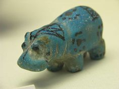 Blue Hippo - Ancient Egypt