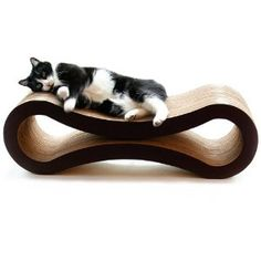 Finally in stock again on Amazon after ModernCat's ad debacle. Just ordered this lounger/scratcher for Mochi via Prime. Will be here by Friday. I'll report back on it. I have high hopes. Every other scratching post or surface we have tried introducing to Mochi have been absolute failures.
