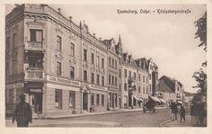 Rastenburg, Ostpr. Königsbergerstraße.