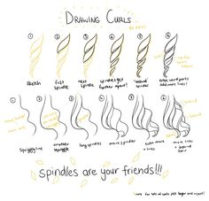 Drawing Curls