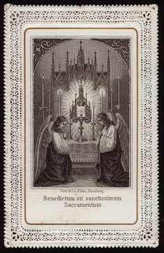 Blessed be the most holy Sacrament