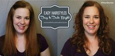 Easy Hairstyles: From Day to Date Night