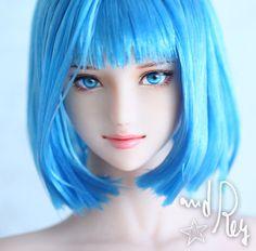 セアラ : and Rey works Anime Dolls, Bjd Dolls, Blender Tutorial, 3d Face, Cg Art, Doll Maker, Character Design References, Kawaii, Anime Outfits