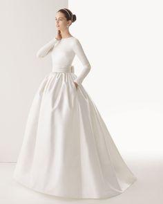 278 Corcega - Vestido de Noiva - Rosa Clará