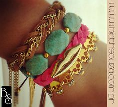 pulseirismo Beth Souza Acessorios  Bracelets, summer 2013