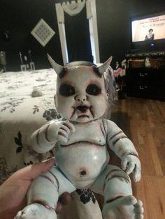 Devil doll by Dollies in the Attic- brilliant :)