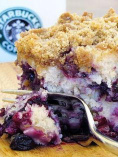 Delicious and Beautiful Blueberry Cake